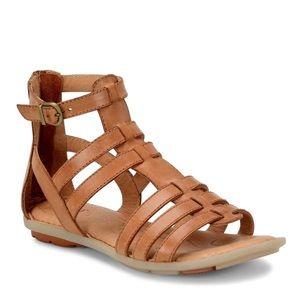 New Born Tripoli Gladiator Leather Sandals Sz 10